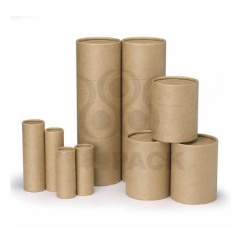 customer printing eco-friendly round paper packing shipping mailing tube