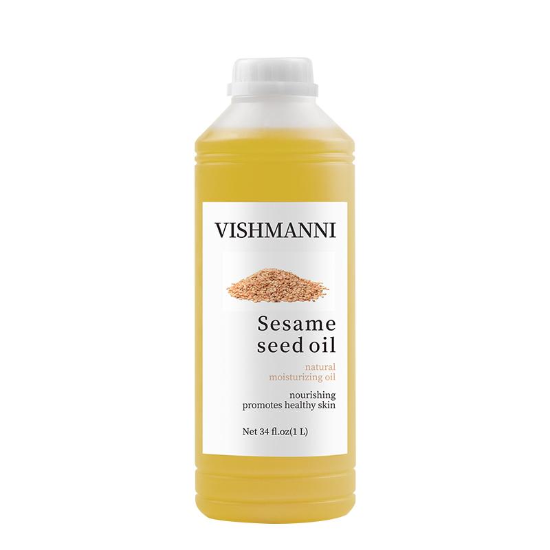 Amazon Горячая Распродажа! Органические чистое кунжутное масло пищевого масла