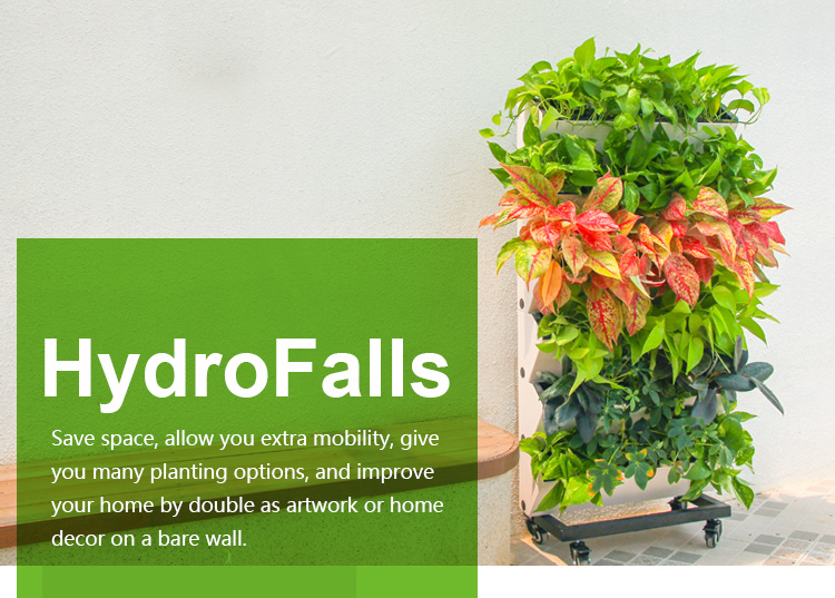 Vertical Garden Wall Planter With Water Indicator Living Wall Green Wall Plastic Self Watering Vertical Garden Green Wall System Buy Living Wall Planter Green Wall Green Wall System Product On Alibaba Com