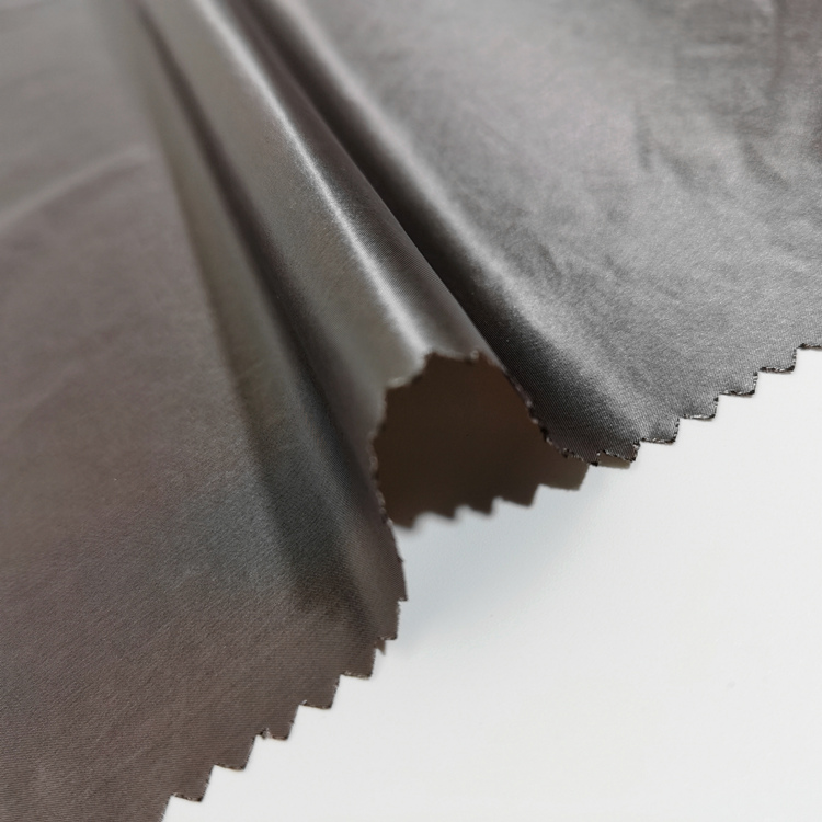 waterproof ripstop 100% nylon spandex luxury designs shiny 20d 30 denier nylon fabric