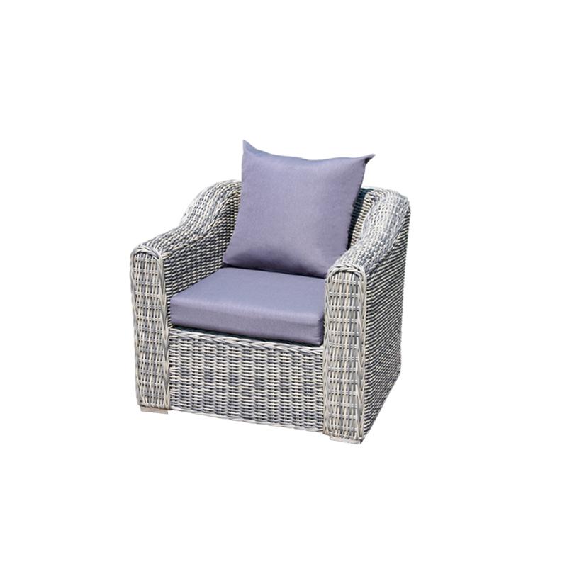 Patio Furniture Outdoor Seat Frame Rattan Power Club Coffee Sofa