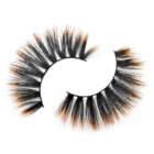 Mink Artificial 3D Imitated Mink Lashes Colorful Artificial Select Eyelashes