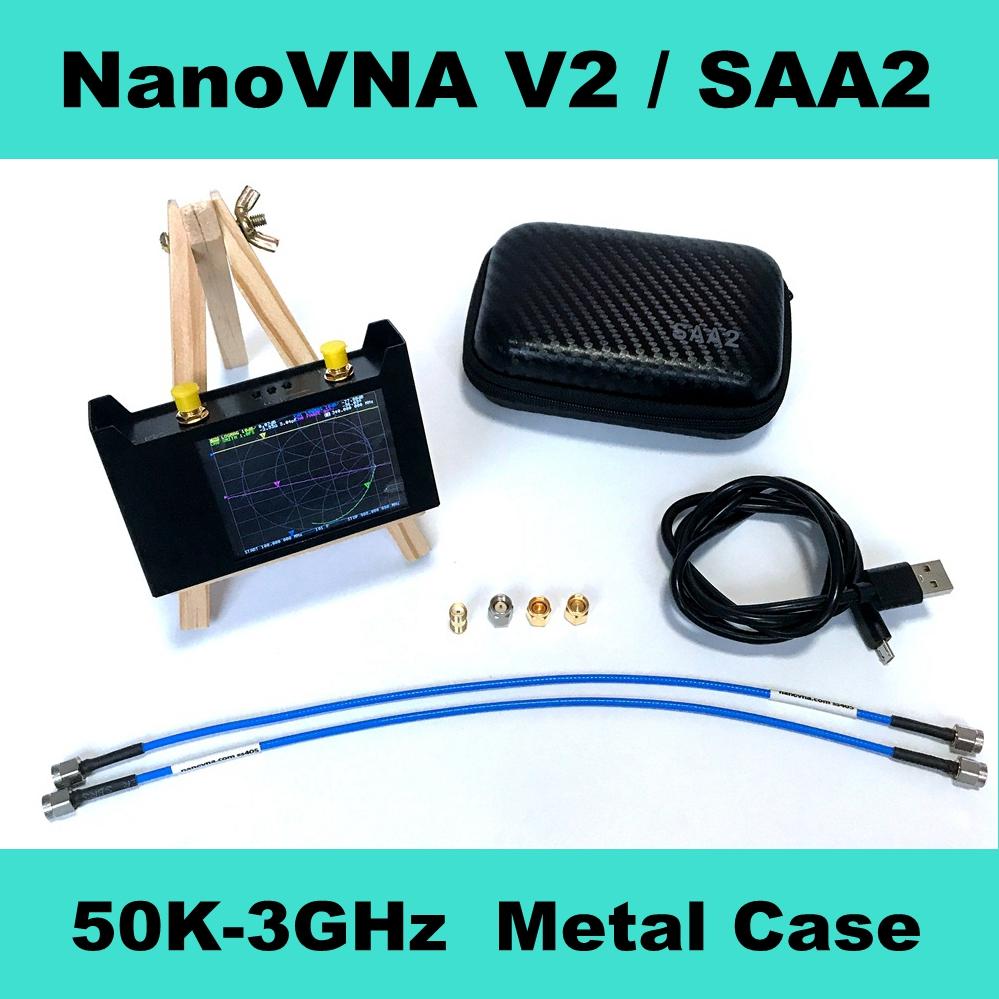 Metal Case SAA2 NanoVNA V2 3GHz 2.2 version 2.8