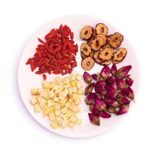 Mixed Hot Selling China Blooming Tea Freeze Dried Fruit Gift Packing - 4uTea   4uTea.com