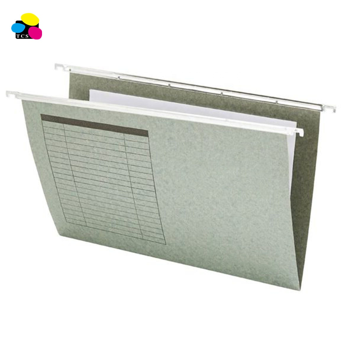 Office stationery 25pcs/box A4 Size 11pt Paper Material Suspension Hanging File Folders