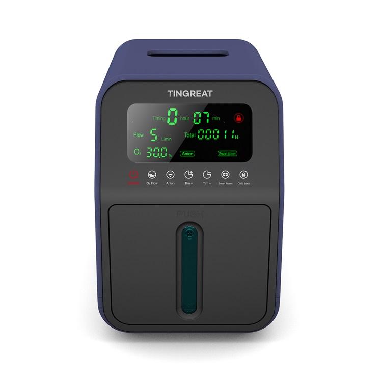 Best-selling Intelligent Oxygen Concentrator Household Portable Oxygen Concentrator Generator concentrador de oxigeno (CE ROHS) - KingCare   KingCare.net