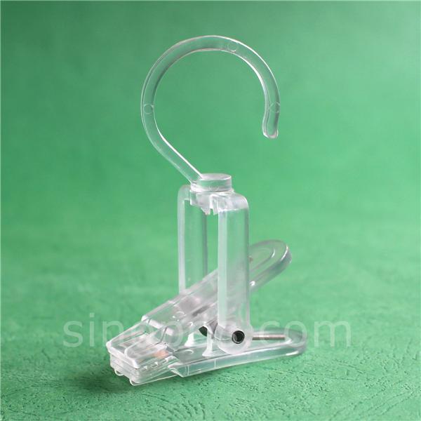 Прозрачные пластиковые супер-умные зажимы для стирки ботинок шляпы шарфа витрины крючки прищепки Баннер Вешалка большой прозрачный поворотный умный зажим