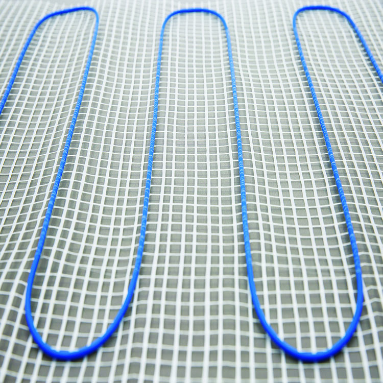 Heated floor mat heating system warm radiant floor heating system