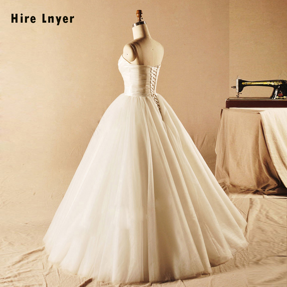 Женское свадебное платье Aster, выполненное на заказ, простое Плиссированное бальное платье, свадебное платье, Alibaba, Китай, реальная фотография