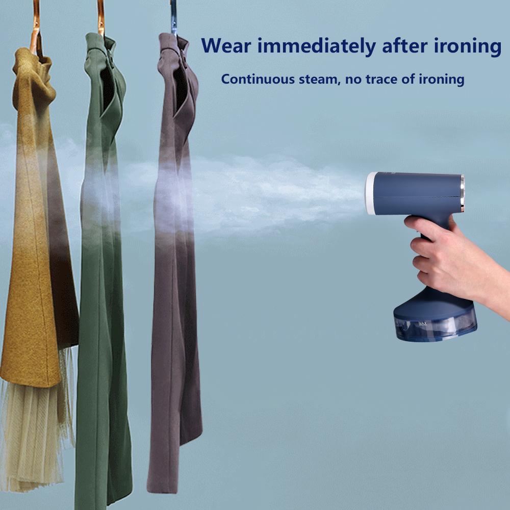 Производители поставляют ручной отпариватель для одежды синий паровой утюг портативный для домашнего использования