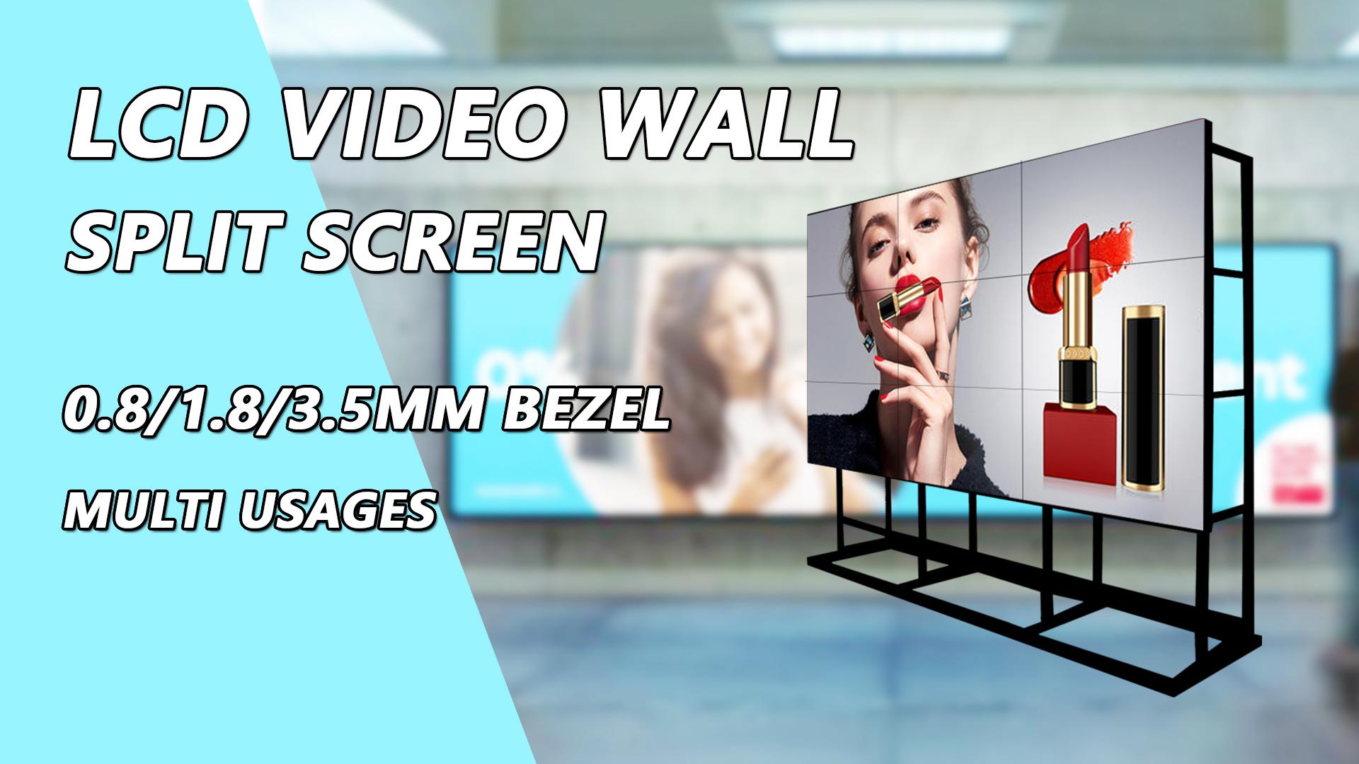 55 polegadas 4k ultra hd tv lcd parede de vídeo com garantia global