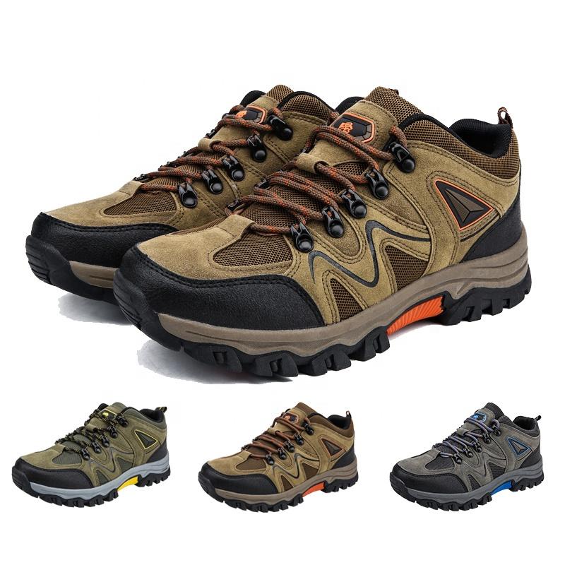 Уличные спортивные походные ботинки, Мужская износостойкая прогулочная обувь, обувь для скалолазания