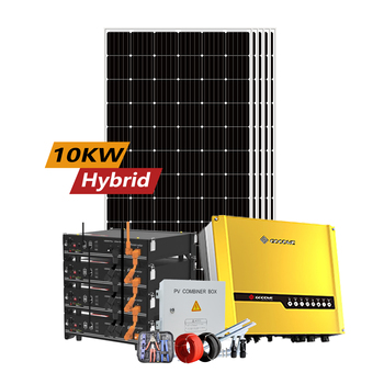 Rosen Hybrid Solar PV Kits 10kw On Grid Inverter System with Storage Battery