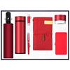 Red-umbrella+vacuum flask+usb+pen+notebook+speaker+power bank