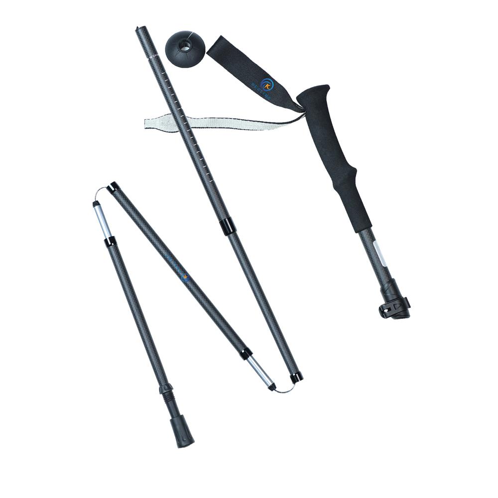 5 секций регулируемые треккинговые палки трость альпеншток туристическое снаряжение для кемпинга трость для прогулок Спорт на открытом воздухе