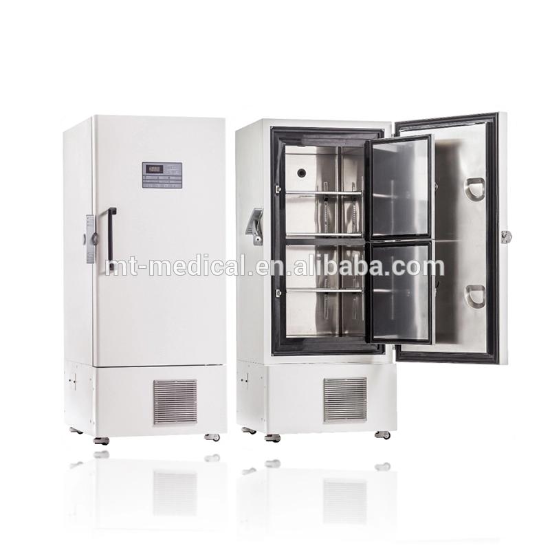 Ultra-low temperature -86 degree medical vaccine refrigerator high quality biological medical freezer -86