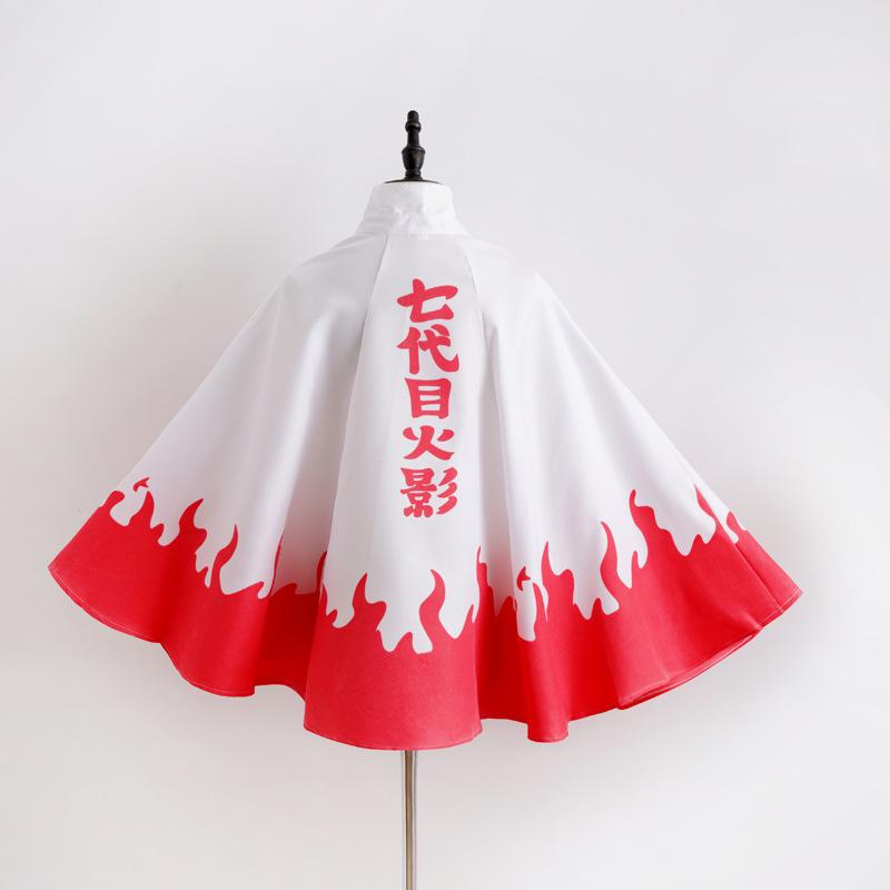 Anime clothing cosplay Naruto windbreaker Uchiha Itachi cloak red cloud robe Xiao organization stand collar clothing