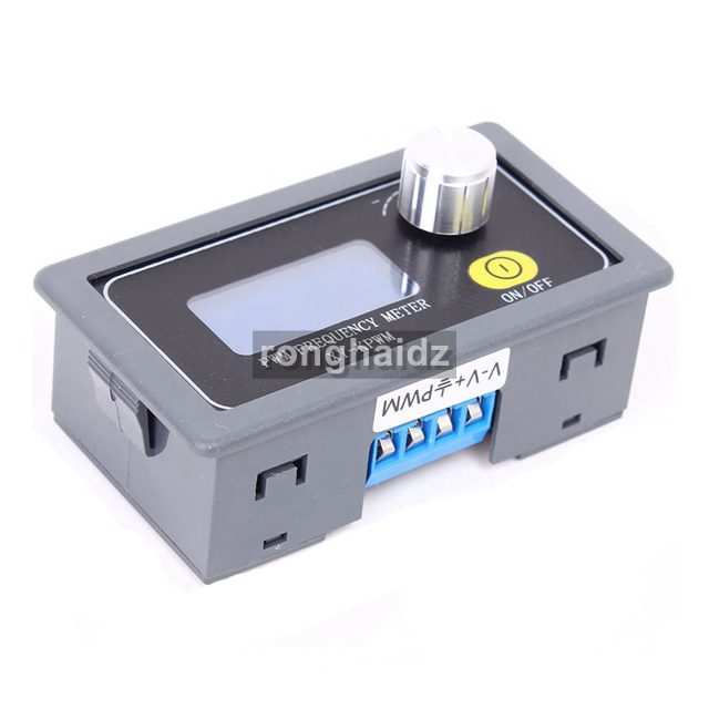 Adjustable 1Hz-150KHz PWM Signal Generator Module Have ON OFF Button Square Wave Pulse Signal Output PWM Frequency Meter XY-KPWM