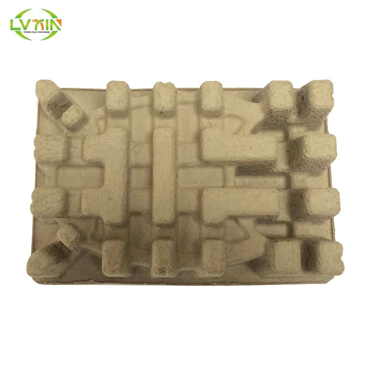 Экологически чистый продукт, производитель формованной целлюлозы, сухой пресс, перерабатываемый лоток для бумажной целлюлозы, формованный целлюлозный пакет