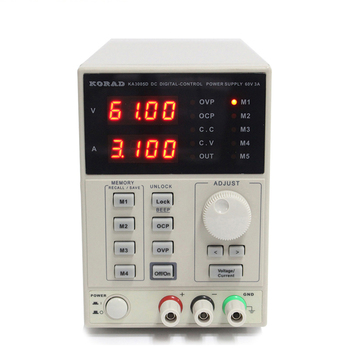 KA3005D 30V 5A 5 Sets of Parameters Regulated Programmable Linear Variable DC Power Supply for Production Line Testing