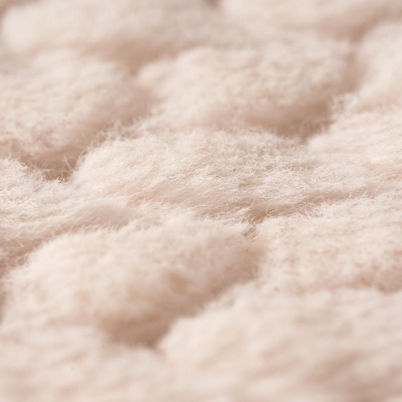 Дешевый белый текстильный материал, плюшевая ткань, искусственный мех для большого использования