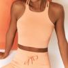 Orange bra