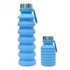 Blau Silikon Flasche