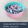 18-Green Pink Ball Pool+300Ball