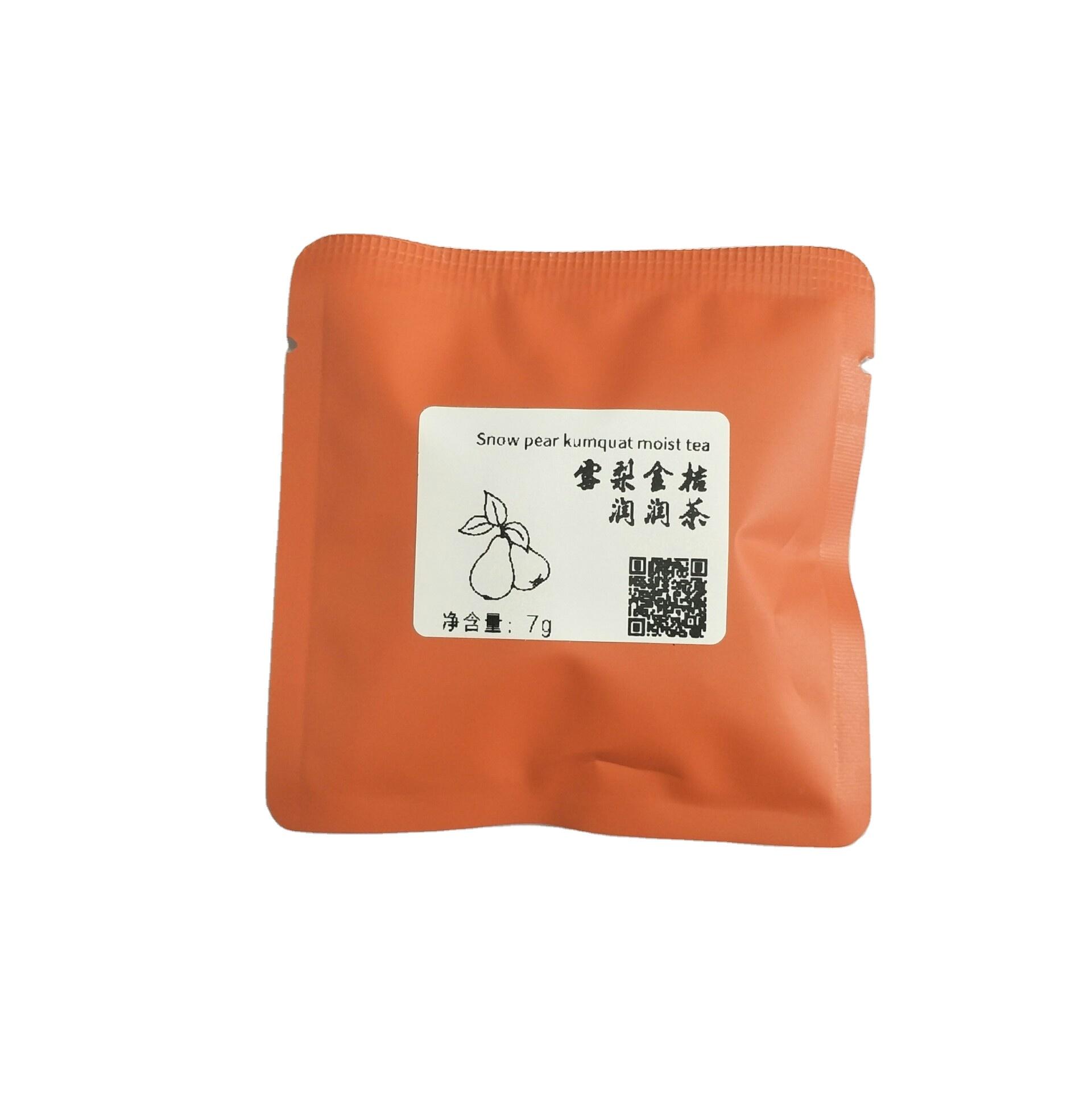 Organic Best Selling Chinese Herbal Detox Snow Pear Kumquat Moist High Quality Women's Fruit Flower Tea - 4uTea   4uTea.com