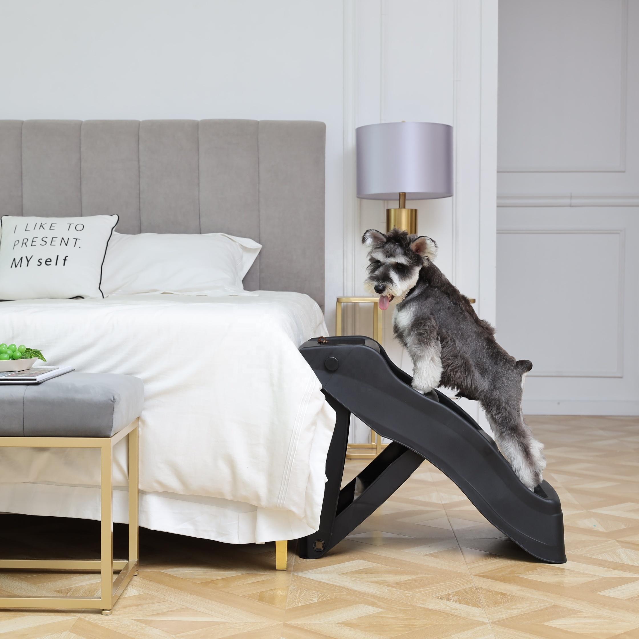 Pet Carrier Dog Ramp Folded D St4 Buy Folding Dog Ramp 4 Step Ramp Plastic Ramp Product On Alibaba Com