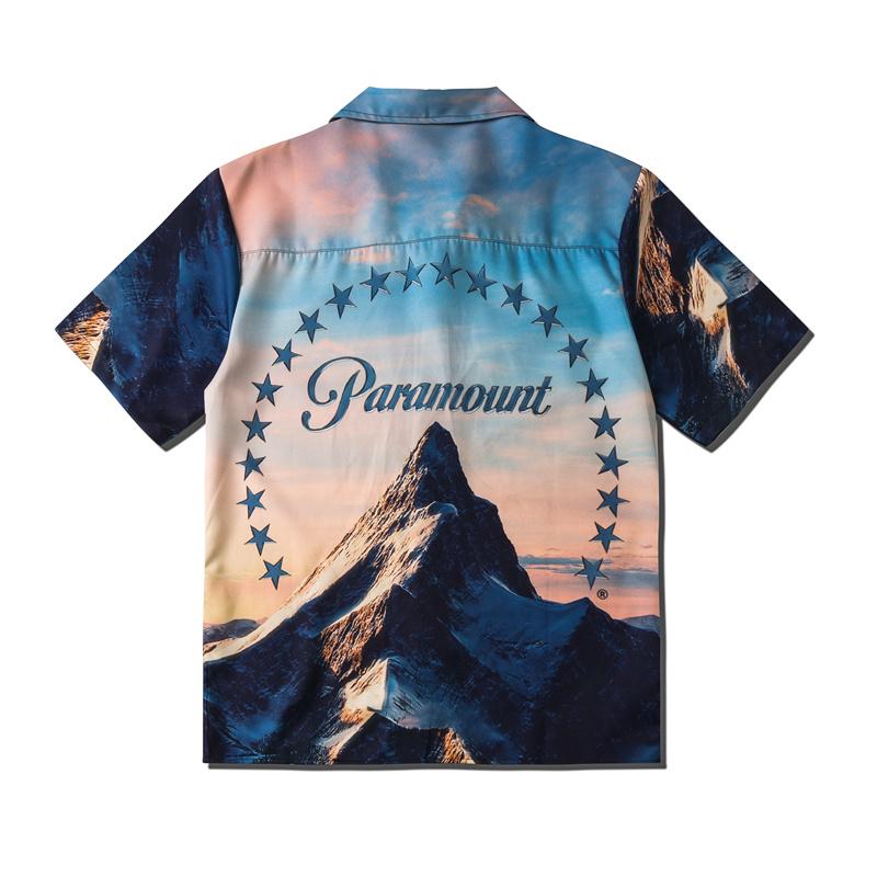 OEM Custom Logo Casual Street Printed Short Sleeve Shirt Men Hawaii Beach Oversize Women Harujuku Hip Hop Shirts for Men