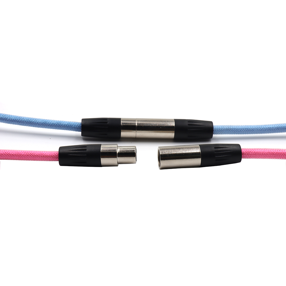 Custom Coiled Type C Mini Micro USB XLR 5pin Cable for Mechanical Keyboard With OB Aviator