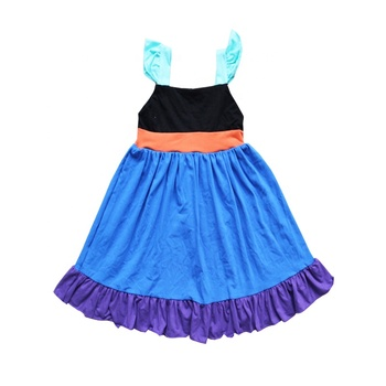 Children summer slip dress girls party dress toddler frocks designs new style party dress wholesale