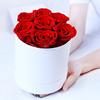 7 Roses Round Box