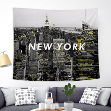New York City Tapisserie 3D Digitale Druck Wand Kunst Dekoration Wandteppich Wandbehang Dekoration Innen Home Decor 150x130cm