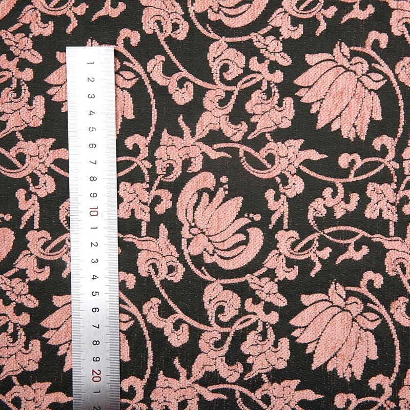 JDX1276MB Custom wholesale chenille jacquard 63% polyester 37% chenille fabric