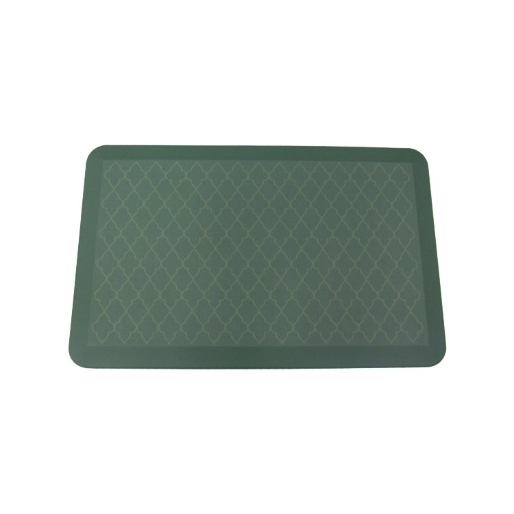Phthalate Free, Ships Flat, Ergonomically Engineered, Kitchen and Office Standing Desk anti fatigue mat