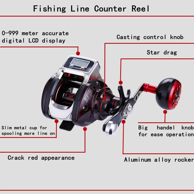 12BB Chinese electric Reels Drum Big Game electric Fishing Reels