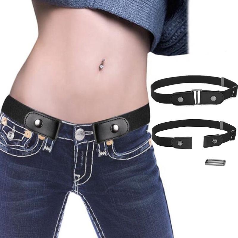 Оптовая продажа с завода, женские эластичные ремни для похудения без пряжки, невидимый пояс cinturon