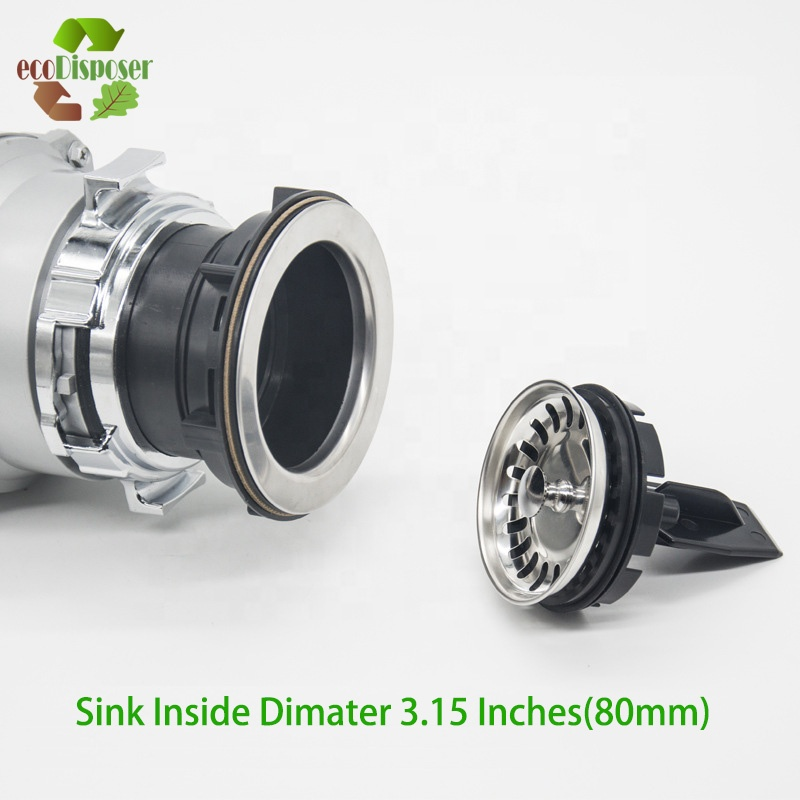Garbage Disposal Strainer Cover Water Stopper Kitchen Sink Stainless Drain Splash Guard With Food Sraper