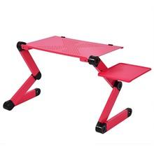 Портативная подставка для ноутбука, стол для кровати, дивана, ноутбука, складная подставка, стол для ноутбука с ковриком для мыши и кулером д...(Китай)