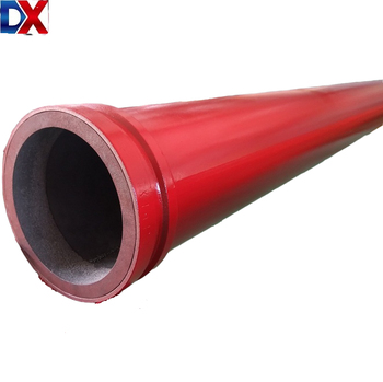 500mm ready to ship-Yantai Daxin Factory supply wear resisting double wall concrete pump pipe