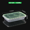 SZ-520 Clear base green lid