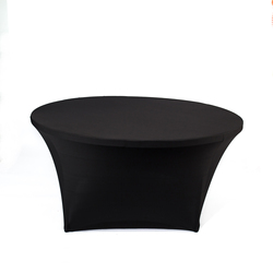 60 inch Round Stretch Tablecloth Spandex Table Cover For Wedding Event Decoration