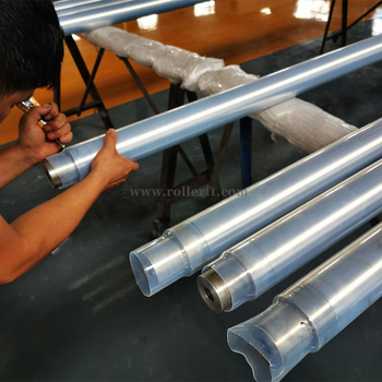 China extruded aluminum printing roller manufacturer with export license
