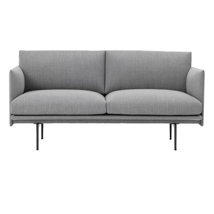 Nordic cloth art  small family can be dismantled and washed a word straight row sitting room sofa