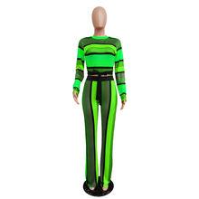 Womail, женский спортивный костюм, сексуальный бандаж, длинный рукав, укороченный топ, брюки, облегающий спортивный костюм, женский комплект, 2 ...(Китай)