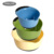 Amazon kitchen gadget best selling plastic salad mixing bowl with soft grip nesting mixing bowls set