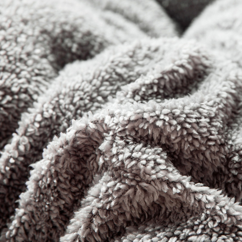 Amazon Королевский размер тяжелый зимний мягкий одеяло из овечьей шерсти лоскутное одеяло для дома