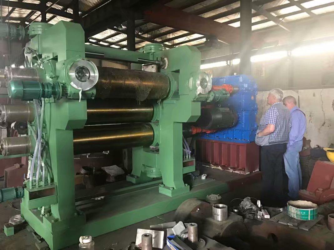 XY4 F 610*1730 4 roll rubber calender machine / calendering line machine price